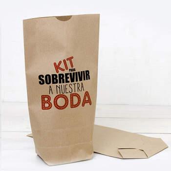 Bolsa Kraft Kit Para que nada te detenga 25 Unidades- Compra en The Wedding Shop