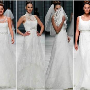 Os mais lindos vestidos de noiva La Sposa 2013: noivas modernas e super elegantes.