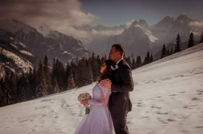 Zakopiańskie wesele i piękna sesja na Rusinowej Polanie. Zapraszamy do obejrzenia tych pięknych kadrów!