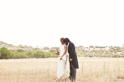 Apuesta por el estilo rústico con un toque chic para tu boda