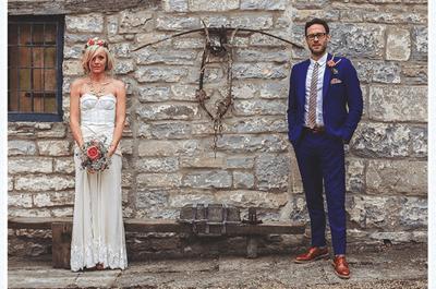 Real Wedding: Mariage Vintage Chic de Bella et Will