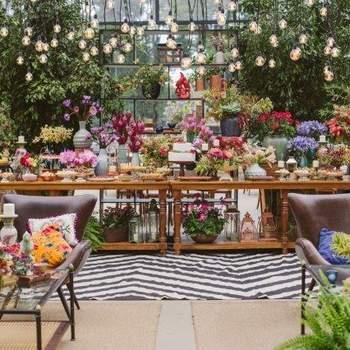 Quer uma decoração de casamento única? Aposte em tapetes e carpetes para um clima folk e original