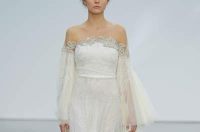 Robes de mariée épaules nues : charme et sensualité au rendez-vous !