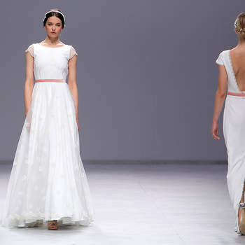 Cristina Tamborero. Barcelona Bridal Fashion week.