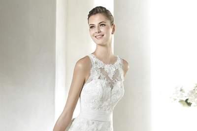 Brautkleider mit Illusions-Ausschnitt: Sexy, elegant, einfach der perfekte Style!