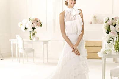 Vestidos de novia colección Manuel Mota Pronovias 2013