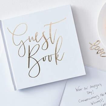Libro de Firmas bodas de oro- Compra en The Wedding Shop
