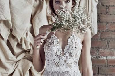 Vestidos de novia en dos piezas. ¡Apuesta por el cambio y triunfa!