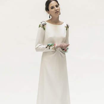 Atrévete a ver los vestidos de novia con cuello barco más bonitos ¡pensados para ti!