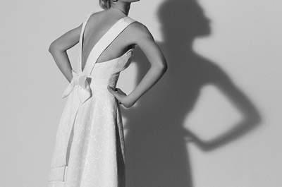 Los mejores vestidos de novia sencillos. ¡Porque menos es más, apuesta por uno de estos modelos!