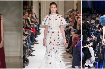 Die Paris Fashion Week: Lassen Sie sich mit diesen Festkleidern der Herbst/Winter Kollektion für 2017 & 2018 inspirieren!