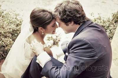 Consigue unas fotografías de boda naturales con Noonu fotografía