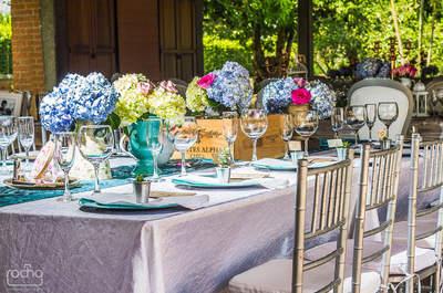 Decoración de boda estilo vintage: El encanto de los pequeños detalles