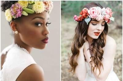 Свадебная прическа и свадебный макияж: узнай главные свадебные тенденции 2015