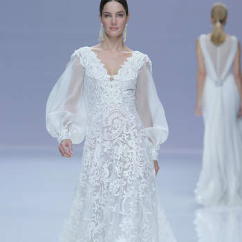 Carlo Pignatelli. Credits: Barcelona Bridal Fashion Week