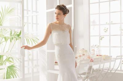 Robes de mariée Aire Barcelona 2016 : Une collection raffinée pleine d'élégance et de style