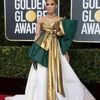 Jennifer Lopez abito Valentino. Crédits Cordon Press