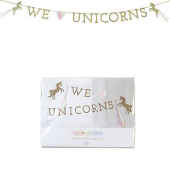 Guirlanda Decorativa Unicornio- Compra en The Wedding Shop
