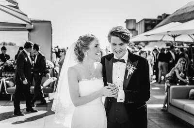 Из России с любовью: колоритная свадьба Татьяны и Джеймса!