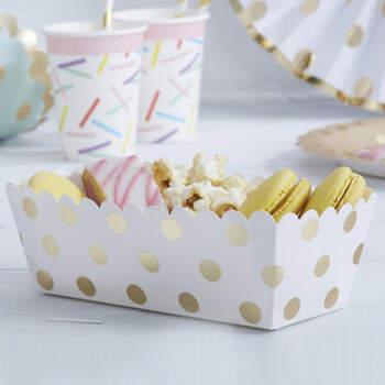 Bandejas para candy bar 5 unidades- Compra en The Wedding Shop
