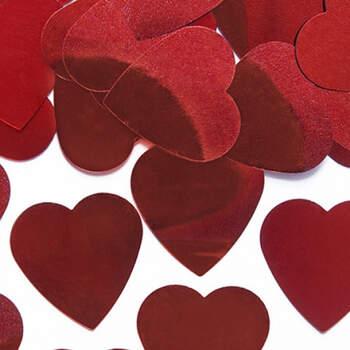 Maxi corazones rojos- Compra en The Wedding Shop