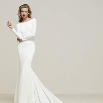 Минималистичные свадебные платья: просто и со вкусом!