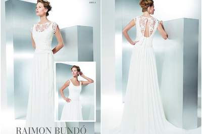 Vestidos de noiva Raimon Bundó 2017: alta-costura e exclusividade para o seu grande dia!
