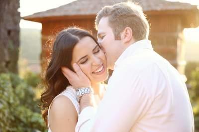 Ana & Tiago: uma romântica sessão de solteiros com estilo campestre!
