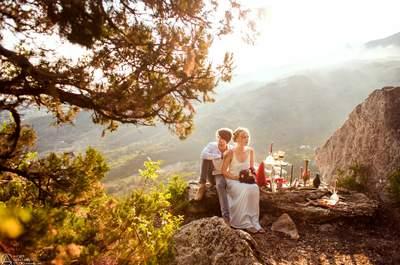Послесвадебная сьемка Love story Константина и Ирины в Крыму
