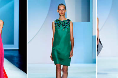 Monique Lhuillier Ready to Wear Collection 2016 New York Fashion Week Catwalk