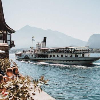 Hochzeit am Thunersee. Foto: Schweiz Tourismus Rent a Hotel