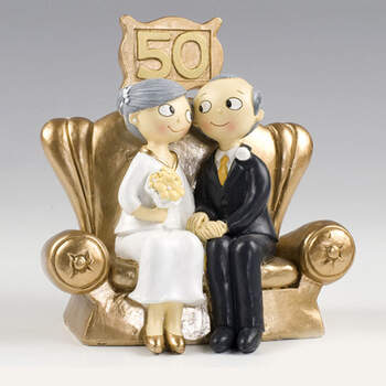Figura tarta bodas de oro- Compra en The Wedding Shop