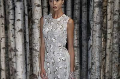 Naeem Khan 2015, le glamour au rendez-vous à la New York Bridal Week