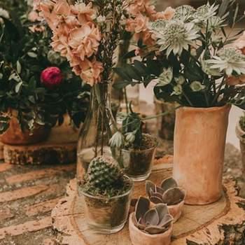 Decoración de mesa. Credits Elena Suárez and co