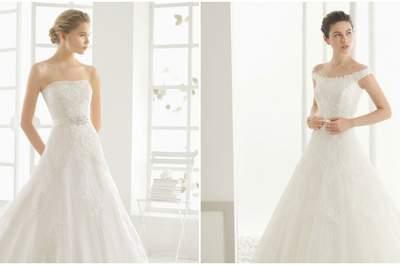 Vestidos de novia con corte A para el 2016, ¡no te pierdas estos 30 modelos!