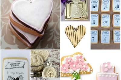 Una idea Zankyou: regala galletas temáticas a los invitados a tu boda