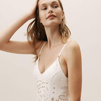 Catherine One-Piece Swimsuit, Bhldn