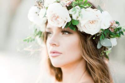 Цветочные венки для невест. Внесите изюминку в образ!