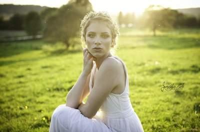 Geflochtene Brautfrisur – ideal für eine Sommerhochzeit in 2014