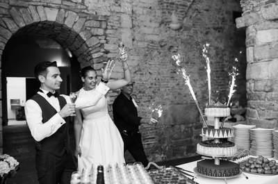 Julien + Maya : Leur mariage dans une magnifique abbaye du 18ème siècle