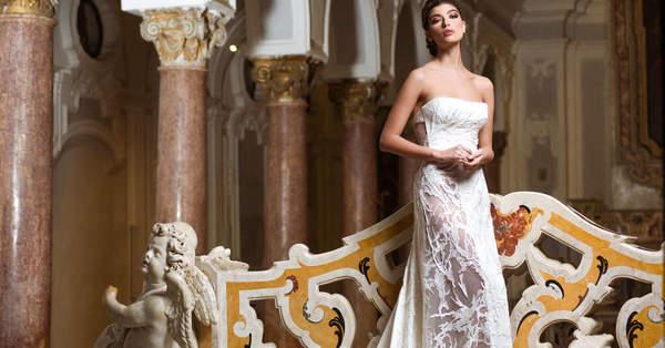 0c868e147e3a Trasformati in una diva con gli abiti da sposa firmati Gianni Molaro