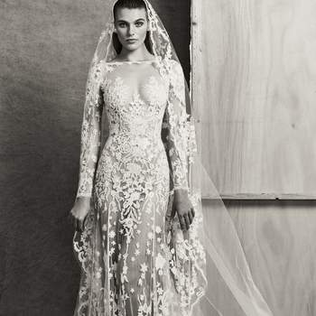 Claire with veil, Zuhair Murad