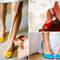 O sapato, além de confortável, é uma parte importante do look das noivas. Cada vez mais, a opção tem sido sapatos de diversas cores ao invés do branco tradicional. Veja estes modelos coloridos!