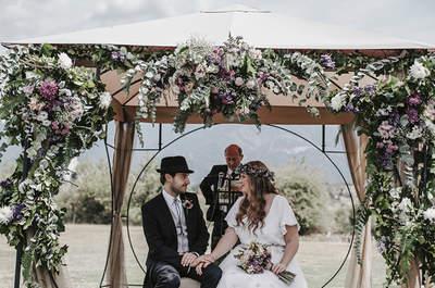 Un enlace de lo más especial: la boda de Víctor y Julia
