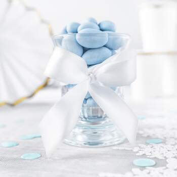 Ruban En Satin Blanc 25mm - The Wedding Shop !