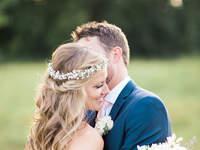 Peinados de novia con pelo suelto 2017