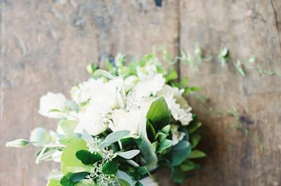 Um casamento rústico com decoração natural: um real wedding ultra-chic!