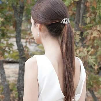 Ein neuer Hochzeitstrend: Brautfrisuren mit Pferdeschwanz für einen tollen Look