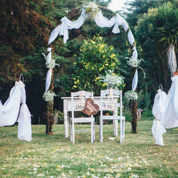 <p>Créditos: Love Stories Weddings - Wedding Decoration &amp; Stationery