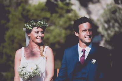 Clémence et Arthur : Un incroyable mariage bohème sur la plage et sous le soleil Corse !